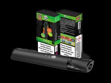 Easy 3 E-Zigaretten Set mit 9mg/ml Cap