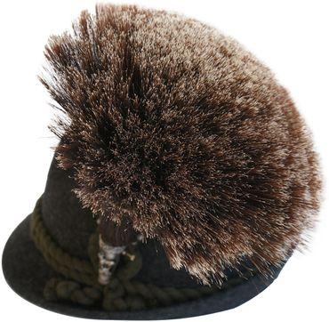 Gamsbart extra groß + Hülse ohne Trachten-Hut Trachtenhut Gemse Jagd Gams Gämse – Bild 1