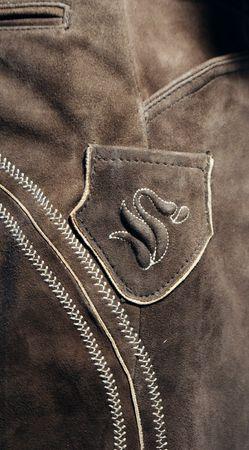 Lederhose Trachtenhose Trachtenlederhose lang braun Träger Trachten Leder Hose – Bild 7