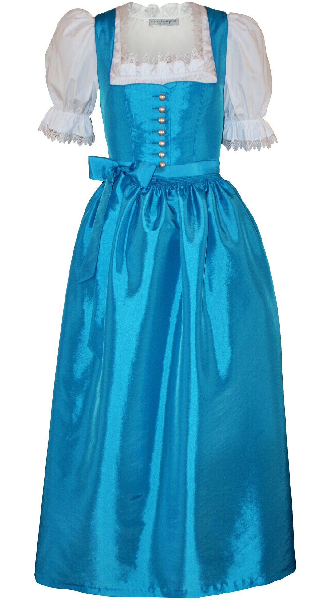 dirndl festtracht trachten-kleid trachtenkleid dirndlkleid ballkleid  türkis-blau | trachten-mayr kostenloser versand und rückversand für  deutschland