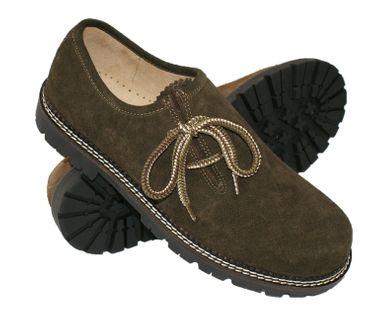 Trachtenschuhe Haferlschuhe Schuhe du.braun Tracht Haferl-Schuhe Trachten-Schuhe – Bild 1
