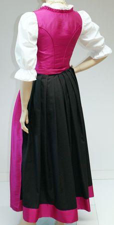 Dirndl Festtracht Trachten-Kleid Trachtenkleid Dirndlkleid Ballkleid pink rosa – Bild 2