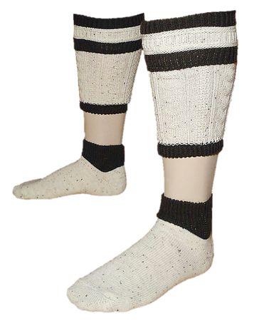 Trachtensocken 2tlg Trachten-Loferl Wadenwärmer Loiferl Socken Strümpfe 39-48  – Bild 1