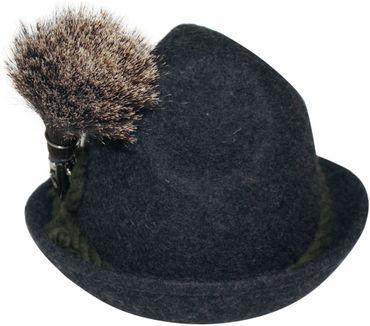 Gamsbart mit Hülse ohne Trachten-Hut Trachtenhut Jagd Jäger Gemse Gams Gämse – Bild 1