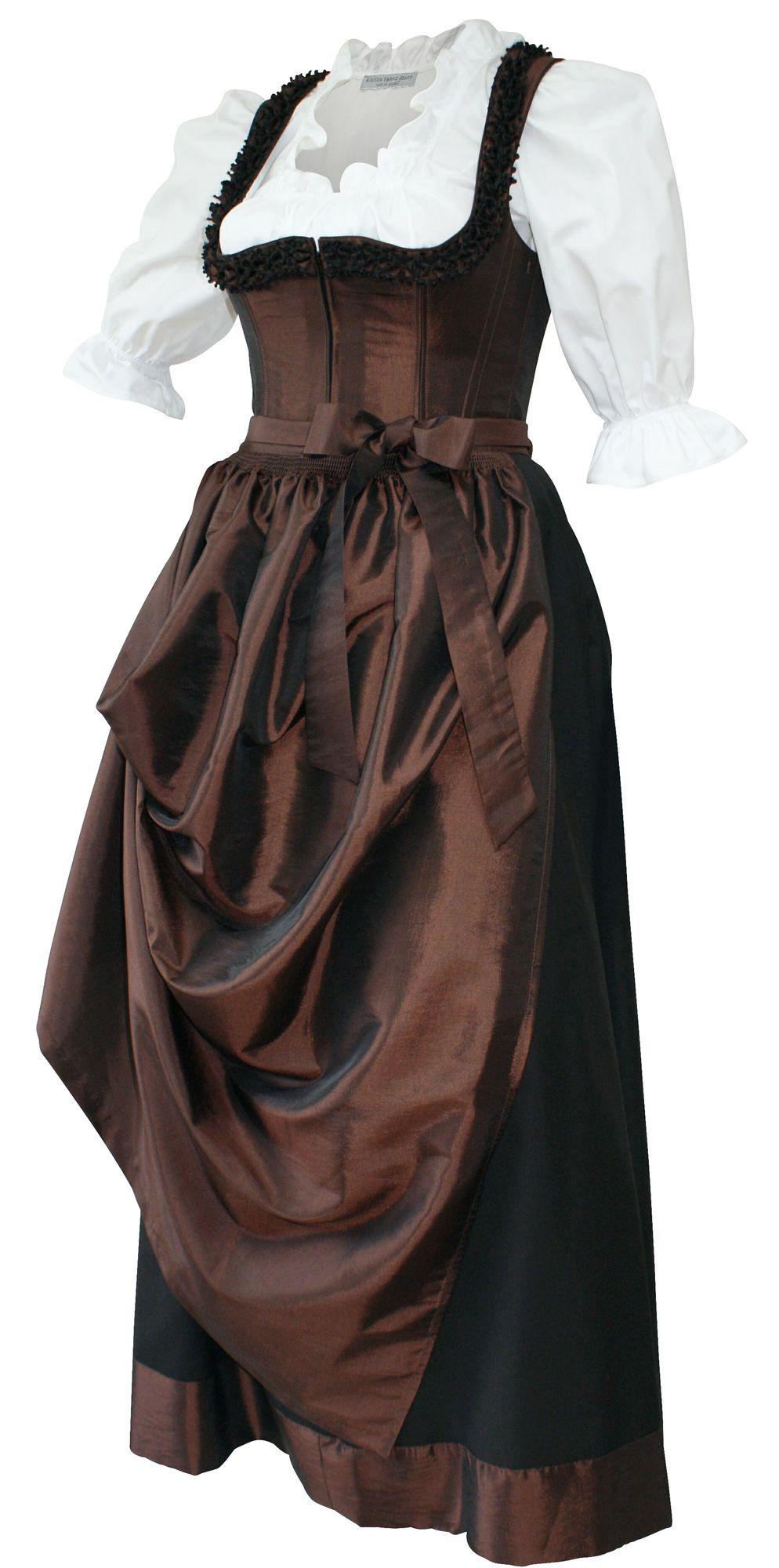 designer mieder dirndl festtracht kleid trachtenkleid dirndlkleid bronze braun damenbekleidung. Black Bedroom Furniture Sets. Home Design Ideas
