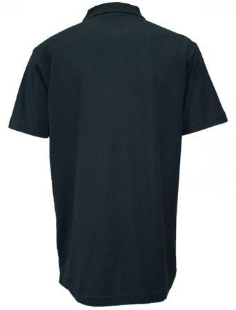 Poloshirt Trachtenhemd Trachten-Hemd Trachten-Polo Shirt Polohemd Hirsch schwarz – Bild 2
