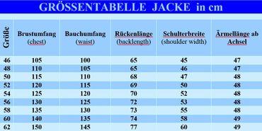 Trachtenjacke Trachtenjanker Trachten Strickweste Strickjacke Jacke beige Weste – Bild 3