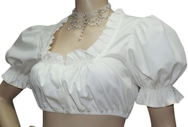 Hochzeitskleid Dirndl Brautkleid Bluse Brautdirndl Braut-Dirndl Hochzeit creme – Bild 5