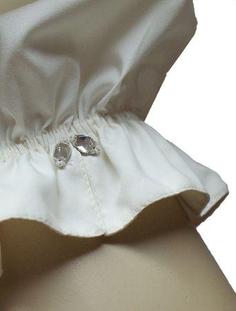 Hochzeitskleid Dirndl Brautkleid Bluse Brautdirndl Braut-Dirndl Hochzeit creme – Bild 6