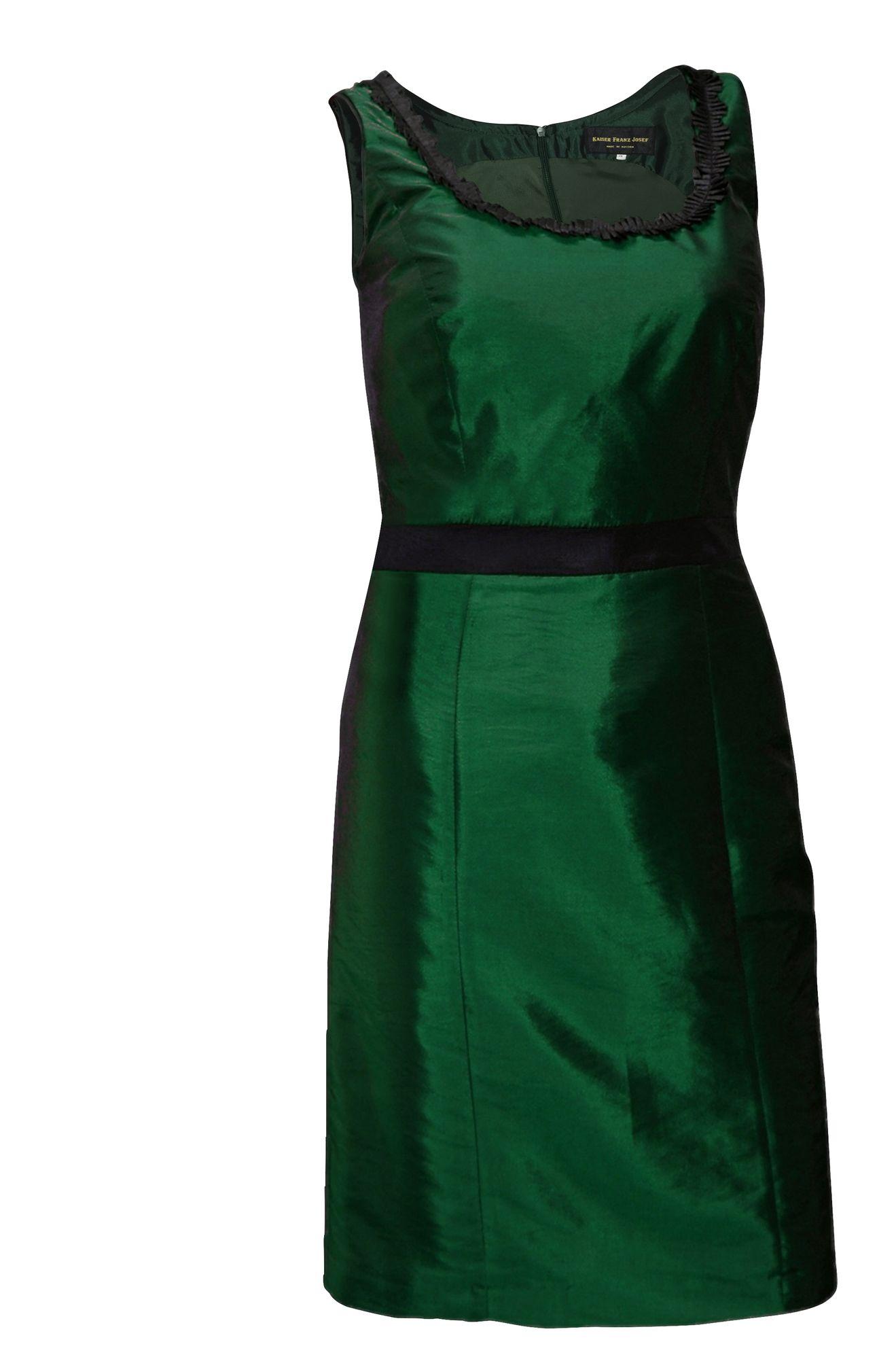Trachtenkleid Abendkleid Dirndlkleid Dirndl Etuikleid Taft Ball-Kleid  dunkelgrün  Trachten-Mayr Kostenloser Versand und Rückversand für  Deutschland