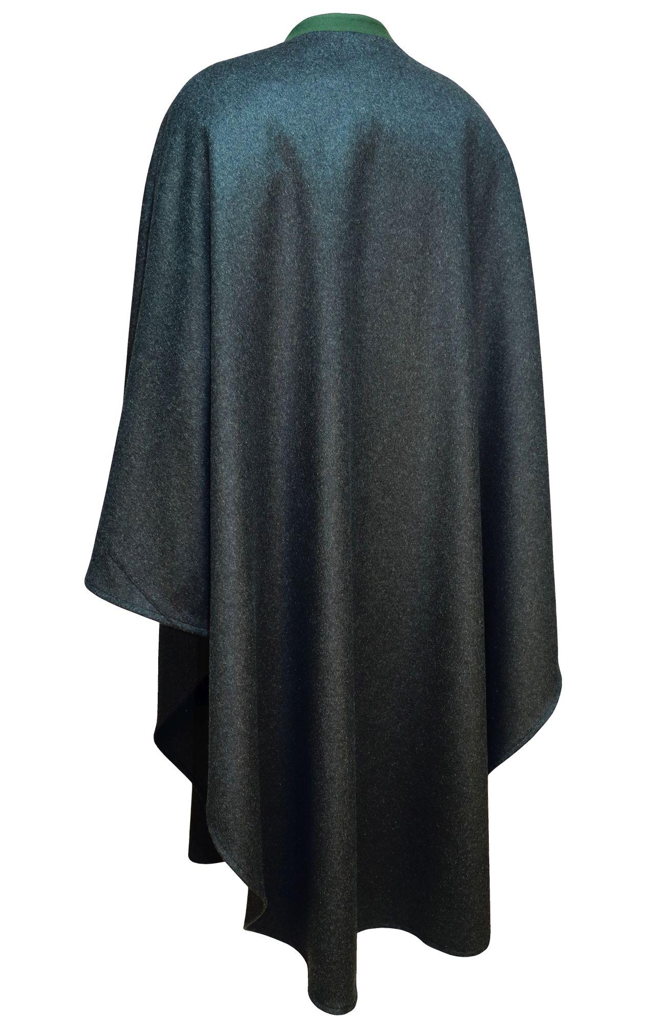 Los Angeles gute Qualität offizieller Preis Wetterfleck grau Loden Umhang Cape Poncho Trachtenmantel Pellerine  Damen-Mantel