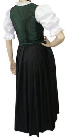 Dirndl Festtracht Trachten-Kleid Trachtenkleid Dirndlkleid Ball Fest Taft grün – Bild 2