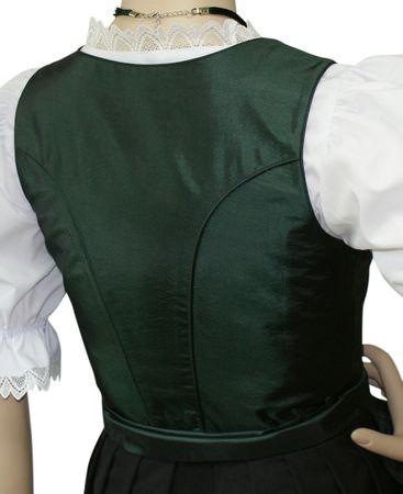 Dirndl Festtracht Trachten-Kleid Trachtenkleid Dirndlkleid Ball Fest Taft grün – Bild 5