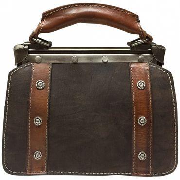 Trachtentasche Handtasche Trachten-Tasche versilbert Swarovski-Elements Unikat! – Bild 2