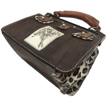 Trachtentasche Handtasche Trachten-Tasche versilbert Swarovski-Elements Unikat! – Bild 7