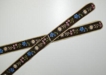 Hosenträger Bayernträger Lederhose Werdenfelser-Träger Lederhosenträger Leder – Bild 11