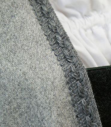 Wetterfleck Umhang Cape Poncho Trachten-Mantel Tuch Pellerine Wolltuch Damen – Bild 24