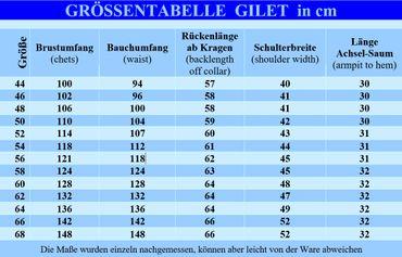 Weste Trachten-Gilet Lodengilet Lodenweste Trachtengilet Trachtenweste m. Brokat – Bild 3
