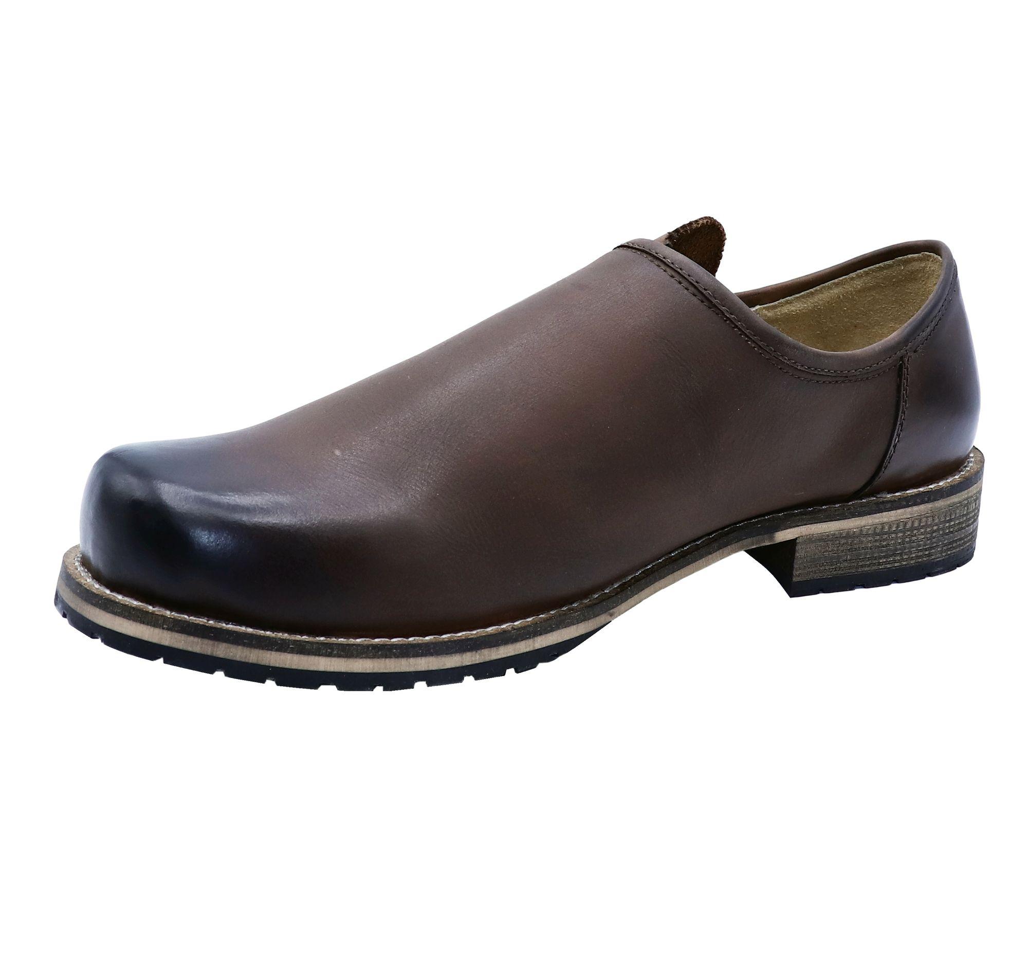 buy online 1750f b120e Trachtenschuhe Haferlschuhe Glattleder braun Herren-Schuhe Lederschuhe  Schnürer
