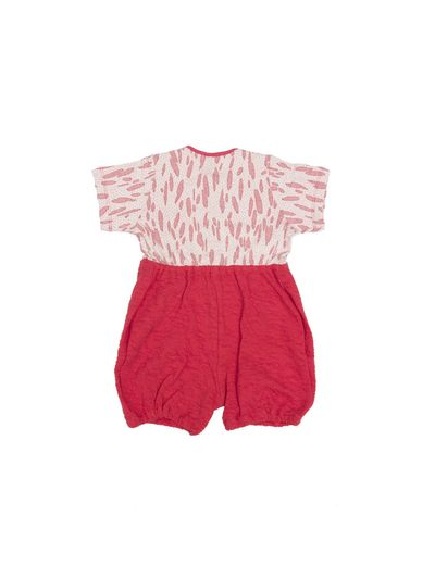 SOFT OVERALL (CRASH STRAWBERRY KNIT) – image 2
