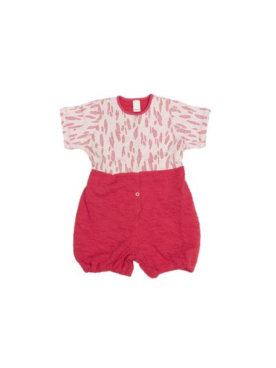 SOFT OVERALL (CRASH STRAWBERRY STRICK) – Bild 1