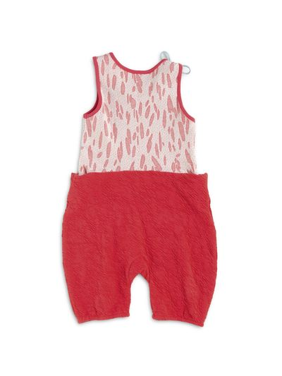 SUMMER OVERALL (CRASH STRAWBERRY KNIT) – image 3