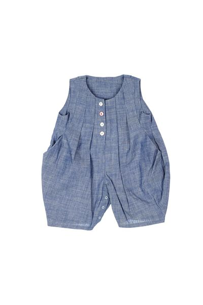 SUMMER OVERALL (LIGHT DENIM) – image 1