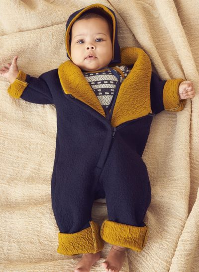 MERINO WINTER OVERALL (BOILED WOOL KNIT) – image 5