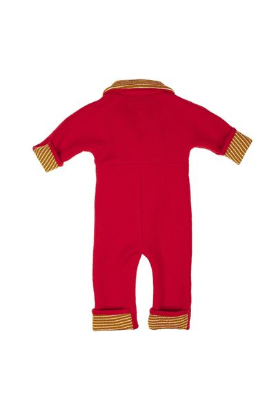MERINO WINTER OVERALL (BOILED WOOL KNIT STRIPED) – image 6