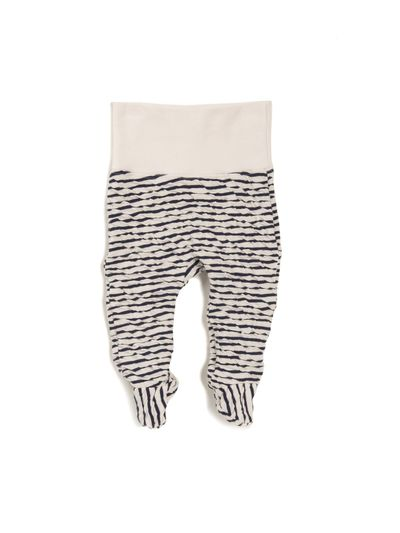 STRIPED TROUSERS (CRASH KNIT) – image 1