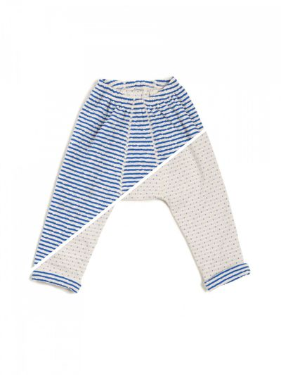 STRIPE PANTS REVERSIBLE (CRASH KNIT) – image 5