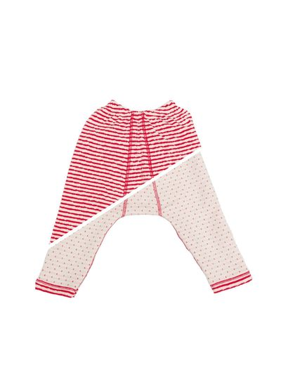 STRIPE PANTS REVERSIBLE (CRASH KNIT) – image 2