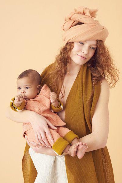 MERINO BABY HOSE REVERSIBEL (WAFFEL STRICK) – Bild 8