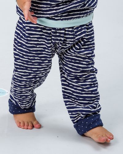 STRIPE PANTS REVERSIBLE (SOLID CRASH KNIT) – image 1