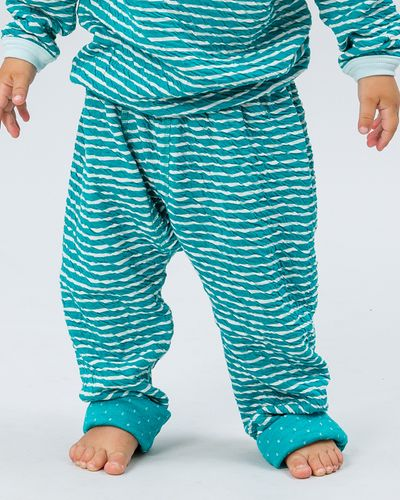 STRIPE PANTS REVERSIBLE (SOLID CRASH KNIT) – image 4