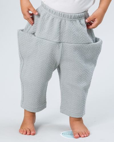 MERINO PULL-UP PANTS (HERRINGBONE KNIT) – image 7