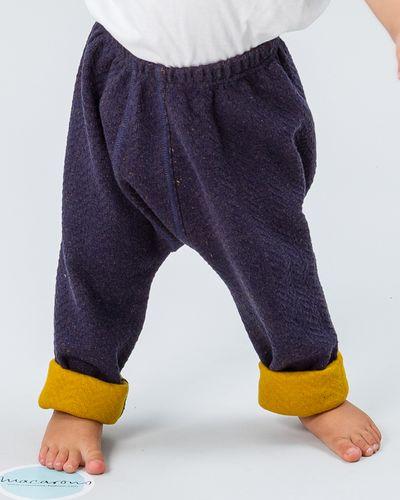 MERINO BABY PANTS (HERRINGBONE KNIT) – image 4