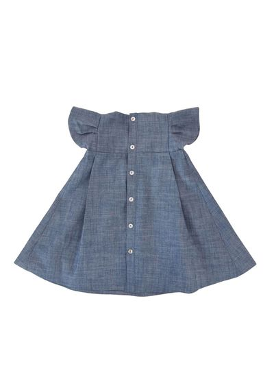 WINGS DRESS (LIGHT DENIM) – image 2
