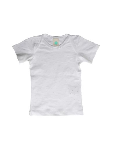BASIC T-SHIRT AJOUR JERSEY BABY – image 3