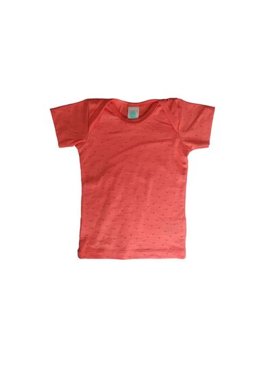 BASIC T-SHIRT AJOUR JERSEY BABY – image 1