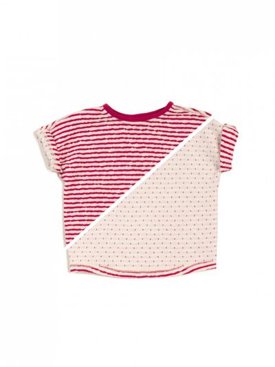 STRIPE T-SHIRT REVERSIBLE (CRASH KNIT) – image 14