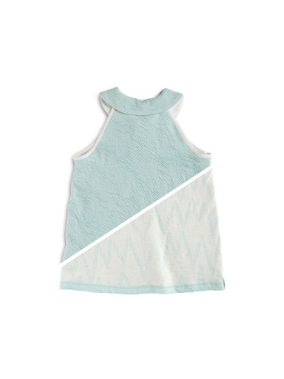 PETER PAN COLLAR TANKTOP CRASH ZIGZAG REVERSIBLE – image 3