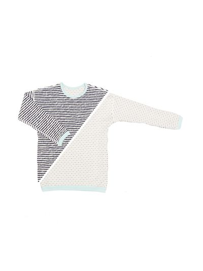 STRIPE PULLOVER REVERSIBLE (CRASH KNIT) – image 3