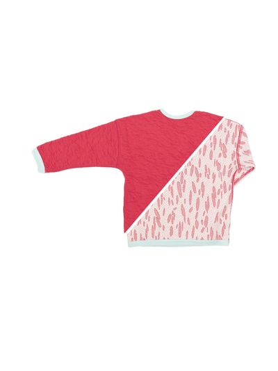 PULLOVER REVERSIBEL (CRASH STRAWBERRY STRICK) – Bild 2
