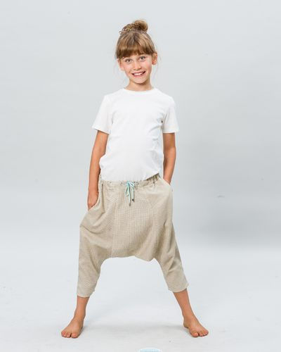 HAREM PANTS FAUX CARREAU – image 4