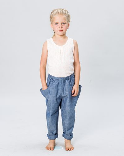 PULL-ON PANTS DENIM – image 2