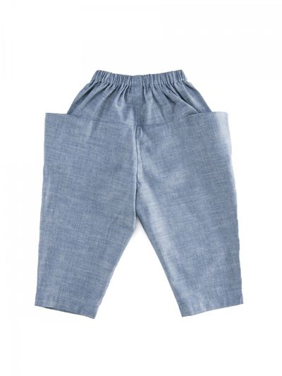 PULL-ON PANTS DENIM – image 3