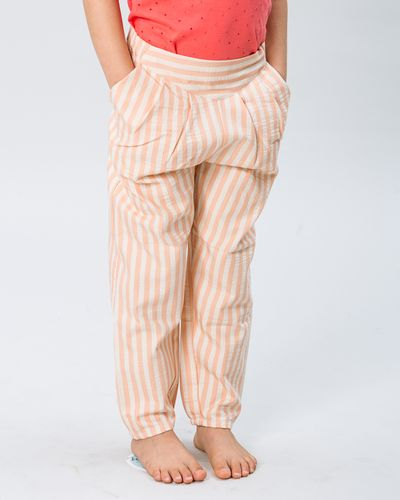 PLEATED PANTS SEERSUCKER – image 6