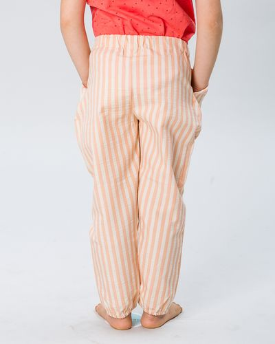 PLEATED PANTS SEERSUCKER – image 7