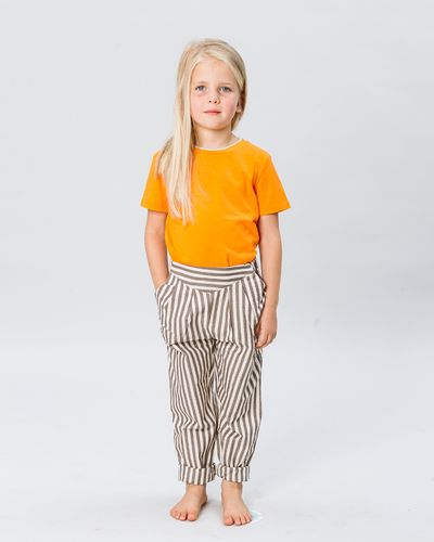 PLEATED PANTS SEERSUCKER – image 3
